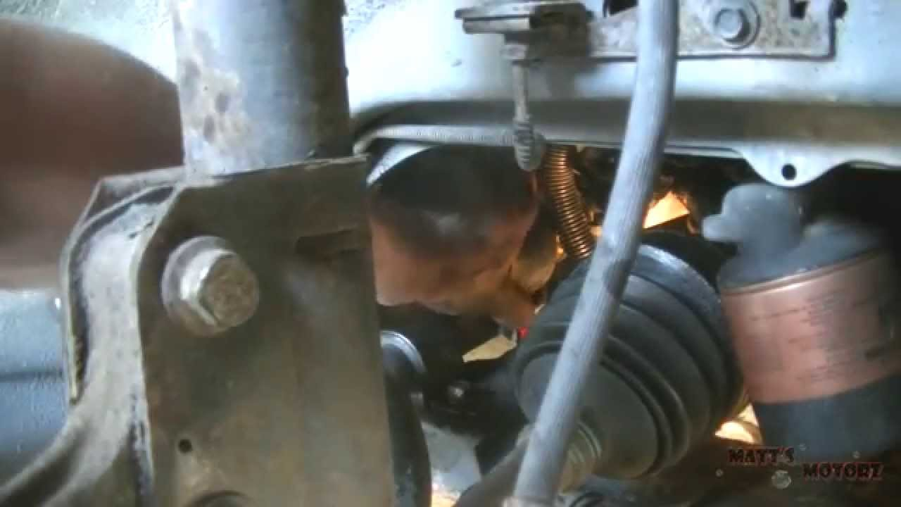 Replacing an inner tie rod end 1999 pontiac grand prix
