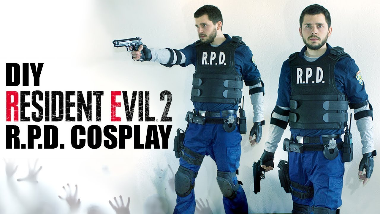 Resident Evil 2 R P D Cosplay Youtube