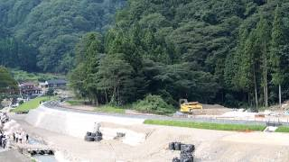 2014/8/23 SLやまぐち号全線復旧記念C57+C56重連運転 島根県津和野町白井の里