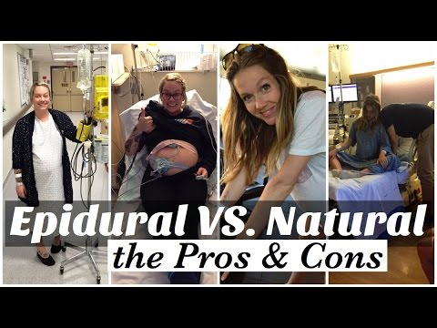 Labor Natural VS. Epidural The Pros and Cons of Each