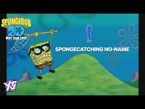 SpongeBob Iconic Moment: SpongeCatching No-Name | SpongeBob's Best Year Ever | YTV