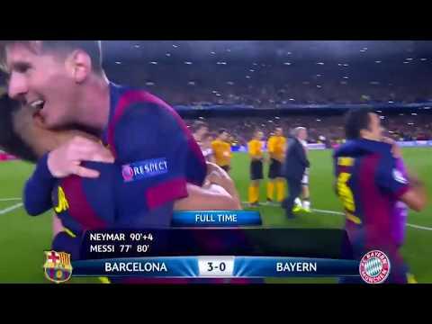 Messi vs Bayern Munich en Ligue des champions Home 2014 15