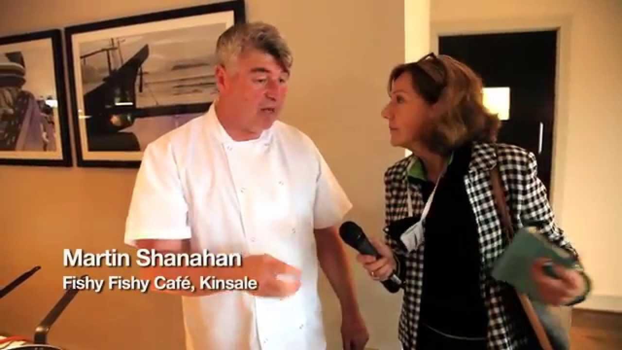 Martin Shanahan, Fishy Fishy Restaurant - Kinsale Gourmet Festival - Unravel Travel TV