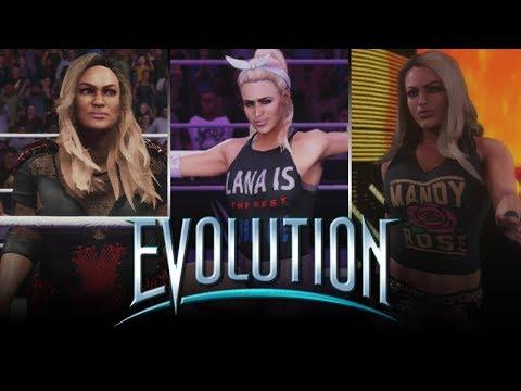 WWE 2K19: 11 EVOLUTION PS4 Updated Attires! #WWE2K19 #Evolution #PS4