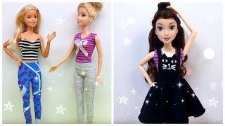 How to Make Barbie Doll Clothes 👗😙 DIY Barbie Clothes Life Hacks 🤗 Barbie Tutorial