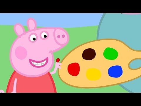 Peppa Pig Italiano - Dipingere - Collezione Italiano - Cartoni Animati