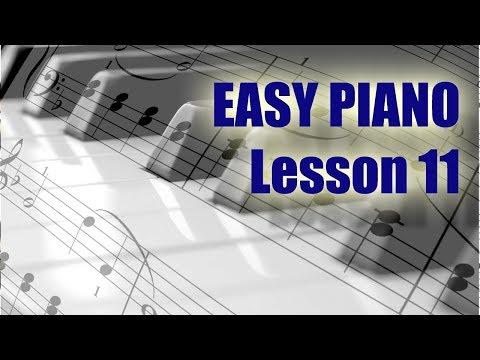 Piano / Keyboard Lesson 11. Explanation free