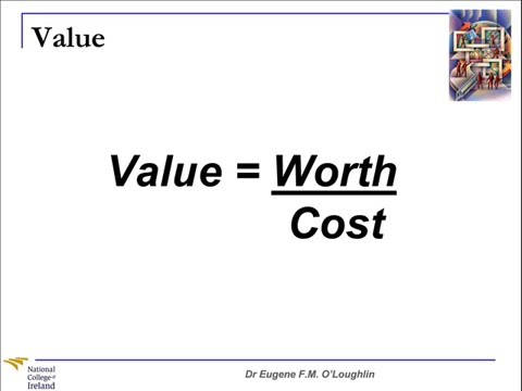 Problem Solving Techniques #2: Value Analysis