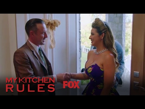 The Contestants Arrive At David Arquette's House | Season 1 Ep. 4 | MY KITCHEN RULES