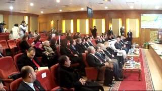قناة السويس الجديدة: الفريق مميش يستعرض القناة الجديدة أمام هشام القاسم رئيس بنك الامارات دبى الوطنى