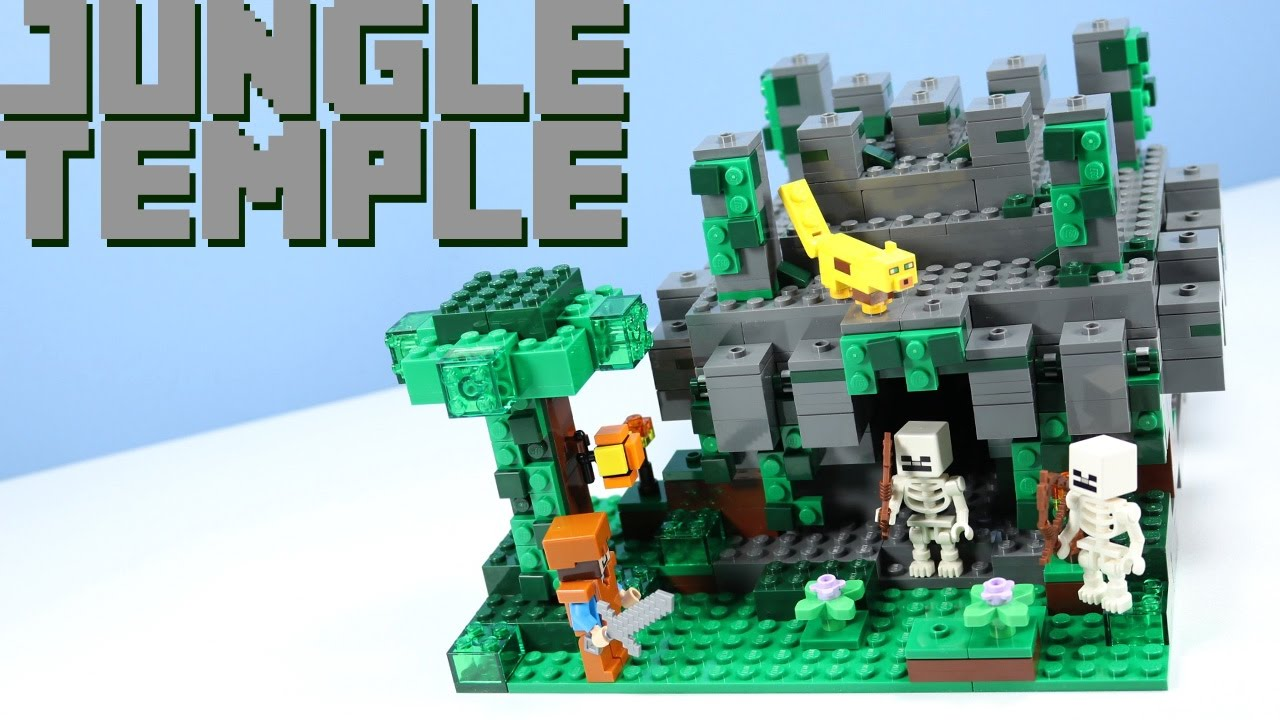 LEGO Minecraft The Jungle Temple 21132 with Hidden ...