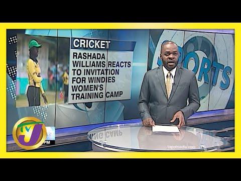 Rashada Williams Joins Windies Women's Training Camp - May 4 2021