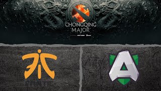 Fnatic vs Alliance Bo3 The Chongqing Major 2019 Group Stage D