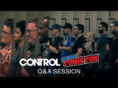 Control - New York Comic Con - Audience Q&A