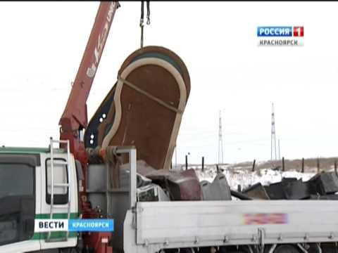 Анонс: В Красноярске пустили под бульдозер тысячу игровых автоматов