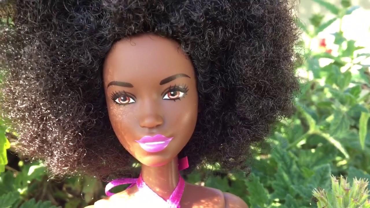 Tropi-Cutie African American Barbie Fashionistas Doll # 59