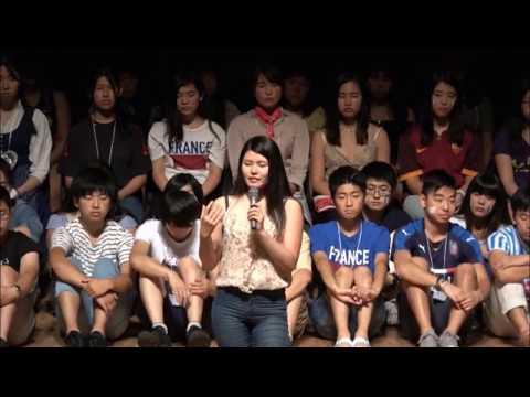 16YL帰国報告会 松井のはらさんの体験談