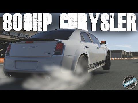 2012 Chrysler 300 SRT8 || 800HP DRAG/WHEELIE BUILD || Forza 6