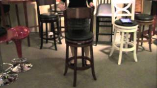 Boraam Palmetto Swivel Stool