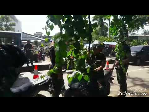 Razia Anggota TNI Oleh Subgarnisun Depok, dan razia atribut tni, kamis 29/3/18
