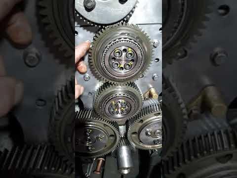 Сборка и регулировка ГРМ Volvo FH12 с двигателем D12A