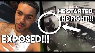 Brother Nature EXPOSED For LYING & Starting The Fight  *CCTV PROOF*