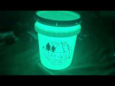 How To Make A Light Up Camp Bucket With Your Cricut