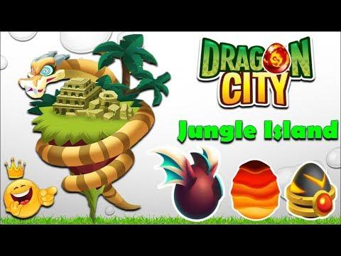 Mini Jungle Island All Dragons COMPLETE Gameplay | Dragon City
