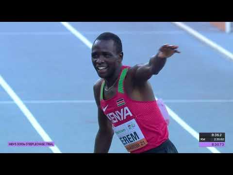 Download Amos Serem and Simon Kibet Koech wins 3000M Steeplechase