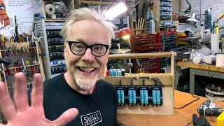 Adam Savage's One Day Builds: Lithium Ion Battery Charging Station!