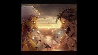 Eren vs titan acorazado- primera pelea hd - season 2 shingeki no kyojin