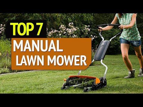 BEST MANUAL LAWN MOWER! (2020)