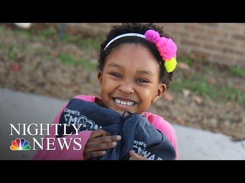 Inspiring America: 6-Year-Old Donates Lemonade Money To Foster Kids | NBC Nightly News