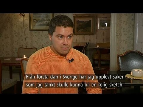 Greg Poehler : Meet the Man Behind Welcome to Sweden — Nyhetsmorgon TV4