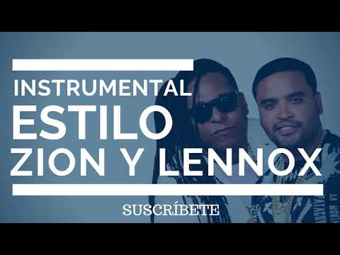 Instrumental Estilo Zion Y Lennox | Sky | J Balvin | Ozuna | Reggaeton Beat | Pista | 2018
