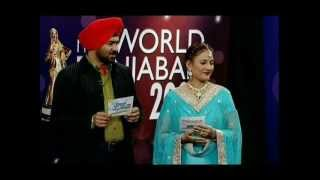 Amar Noorie as a Judge in Miss World Punjaban