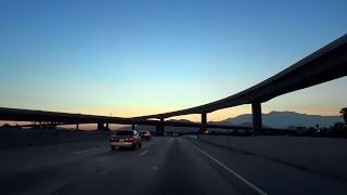 CA-60, West, Moreno Valley Freeway, from the Badlands to the Suburbs