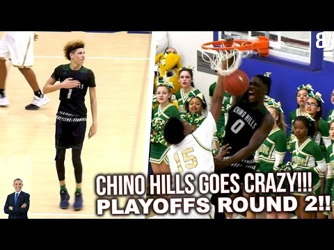 LaMelo Ball & Chino Hills SHUT IT DOWN in 2nd Round Playoffs vs Long Beach Poly FULL HIGHLIGHTS
