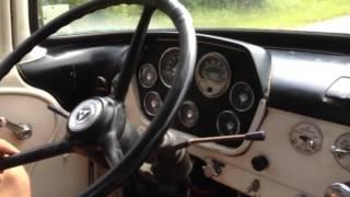 Driving 73 Dodge C600 Semi