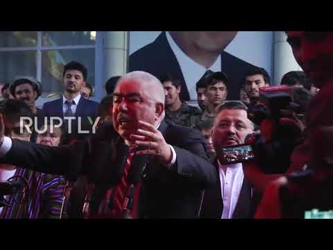 Afghanistan: Afghan Vice-President Dostum returns to Kabul from self-imposed exile