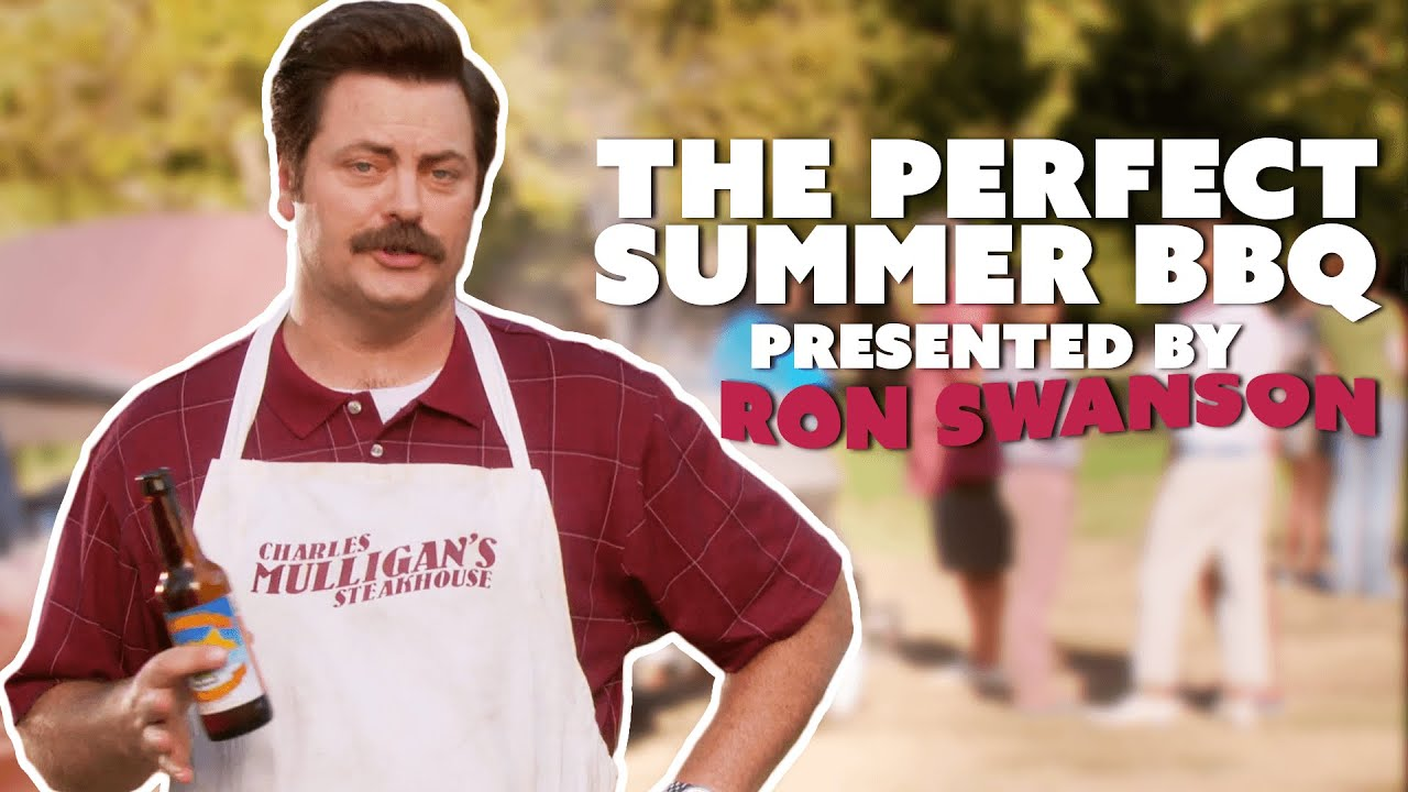 Ron Swanson's Guide To... The Perfect Summer BBQ | Parks & Recreation | Comedy Bites