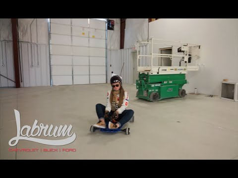 Labrum Chevrolet Buick Ford Drift-Kart Giveaway - YouTube