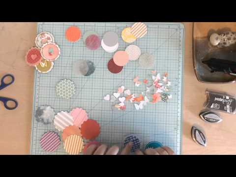 DIY Embellishments  - Layering Punches