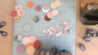 DIY Embellishments  - Layering Punches