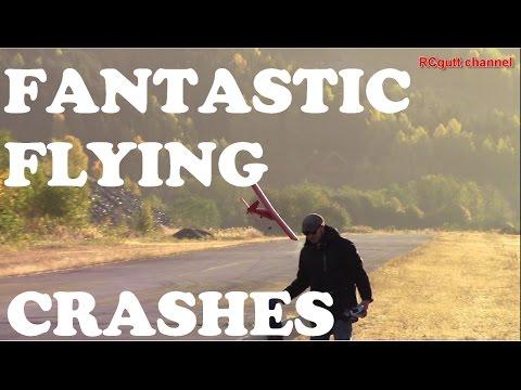 Fantastic day - Crashes - Great flying