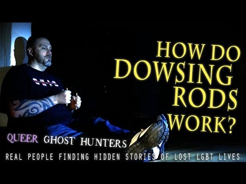 QUEER Ghost Hunters-Hunt QUEER Ghosts! EXTRA: Do DOWSING RODS Work? WATCH Then VOTE!