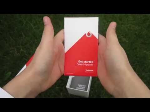 Vodafone Smart 4 Power unboxing