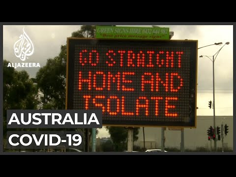 Australia's second-largest city Melbourne reimposes lockdown