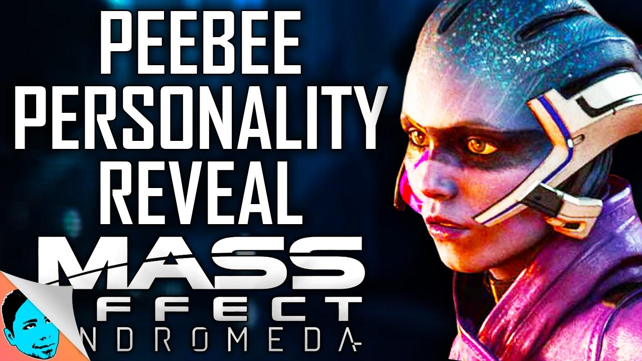 Mass Effect: Andromeda - Peebee Romance Scene - Artistry