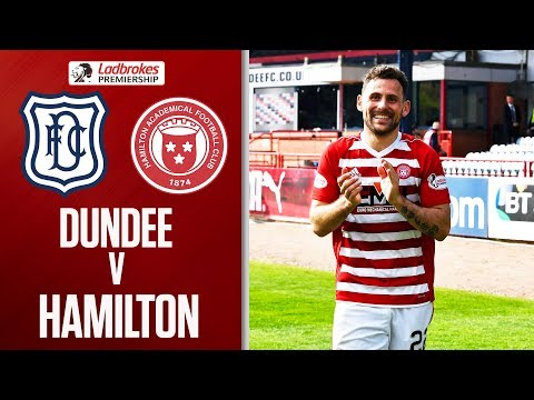 Dundee 0-1 Hamilton   Dundee Relegation Confirmed Thanks to Andreu Penalty   Ladbrokes Premiership